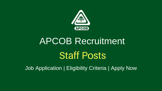 APCOB Jobs