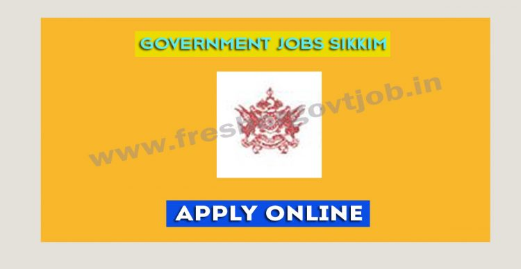 Government Jobs Sikkim