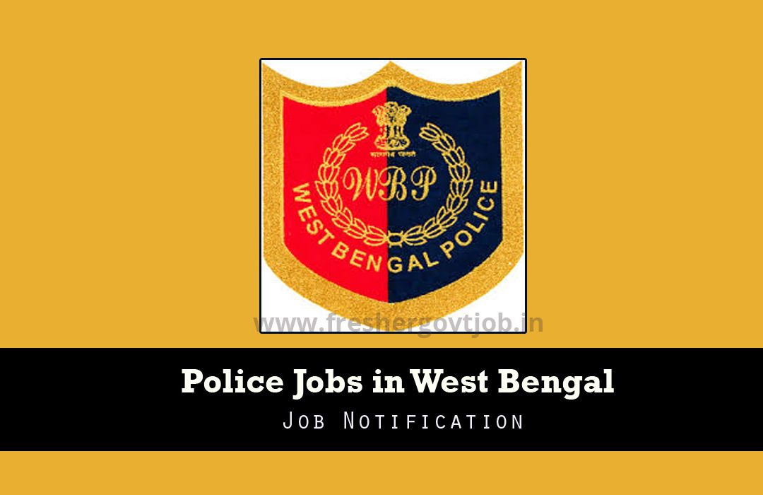 Police Jobs in West Bengal