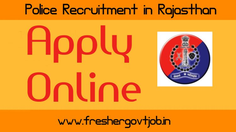 Police Recruitment in Rajasthan