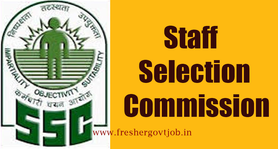 SSC Recruitment Notification