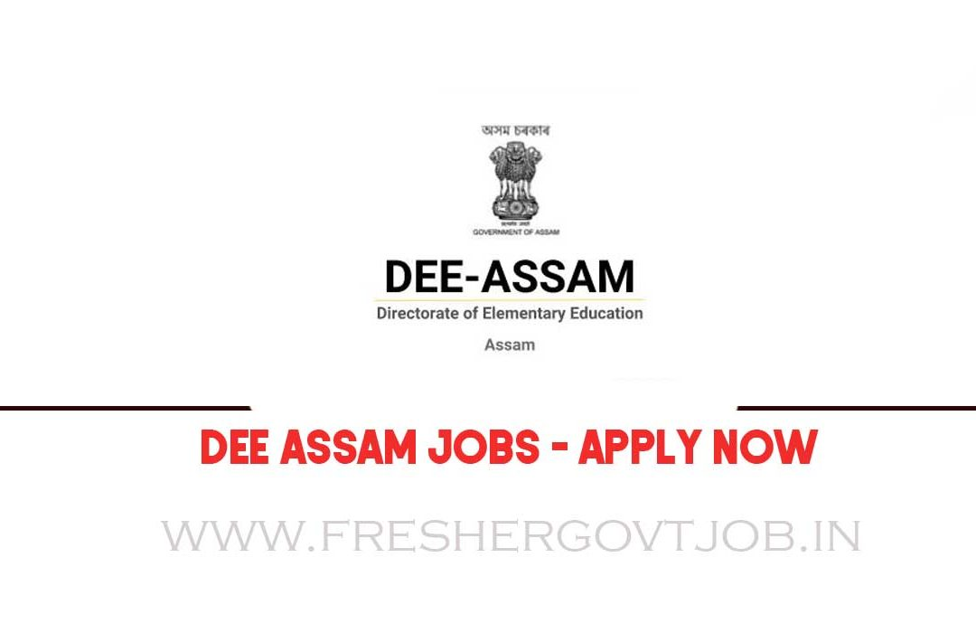 DEE Assam Recruitment