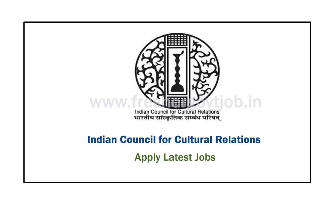 ICCR Recruitment