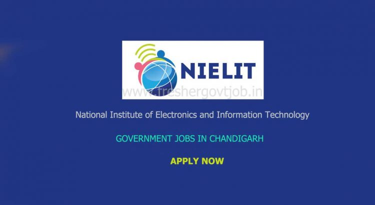 NIELIT Chandigarh Recruitment