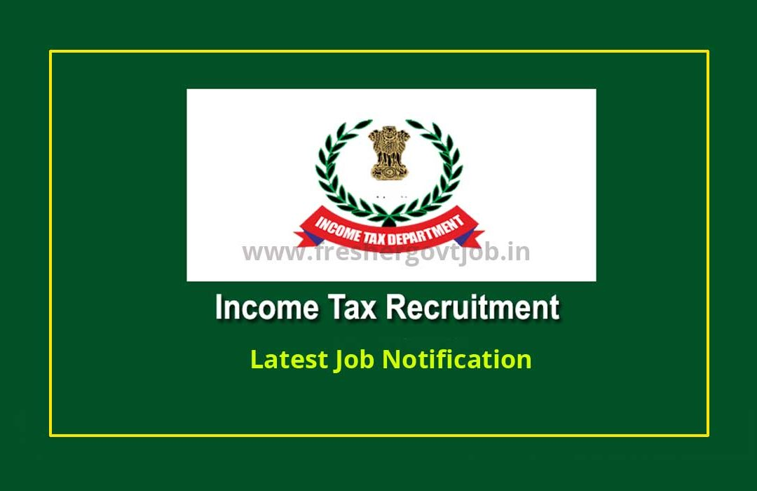Income Tax Recruitment