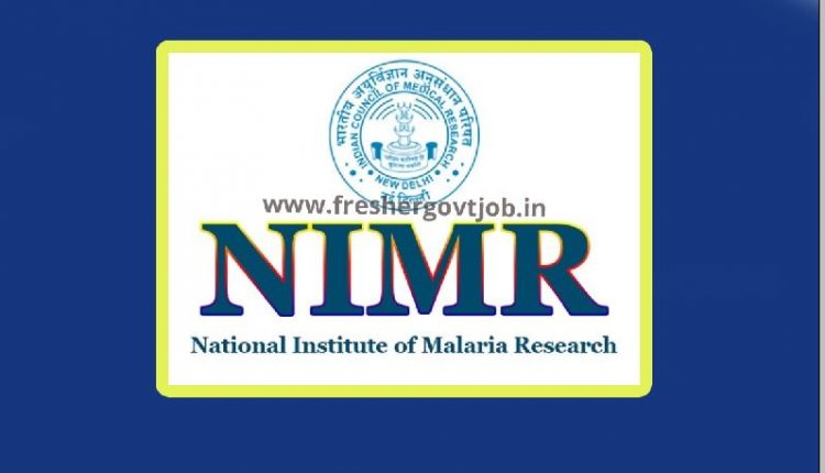 NIMR Recruitment