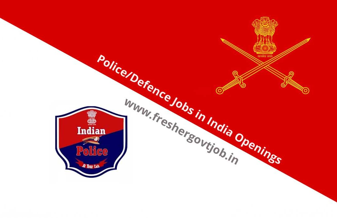 Police Jobs in India Openings