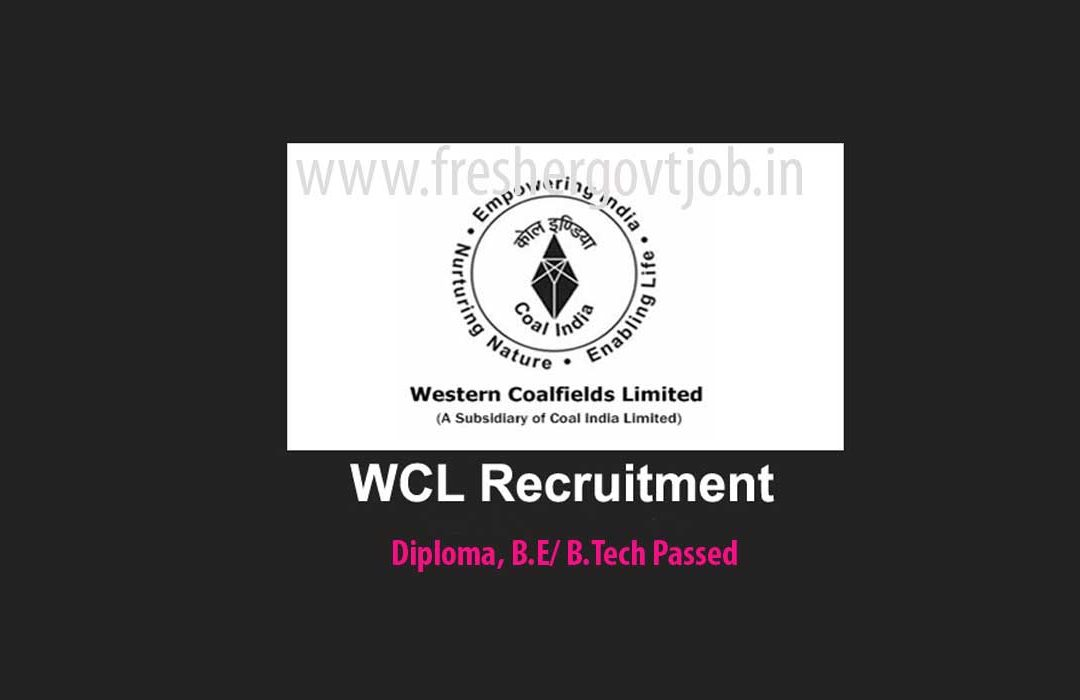 Western Coalfields Ltd Jobs