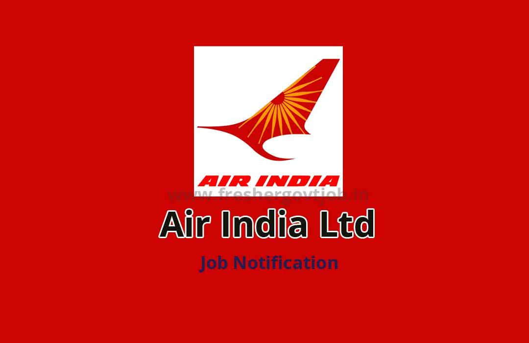 Air India Ltd Jobs