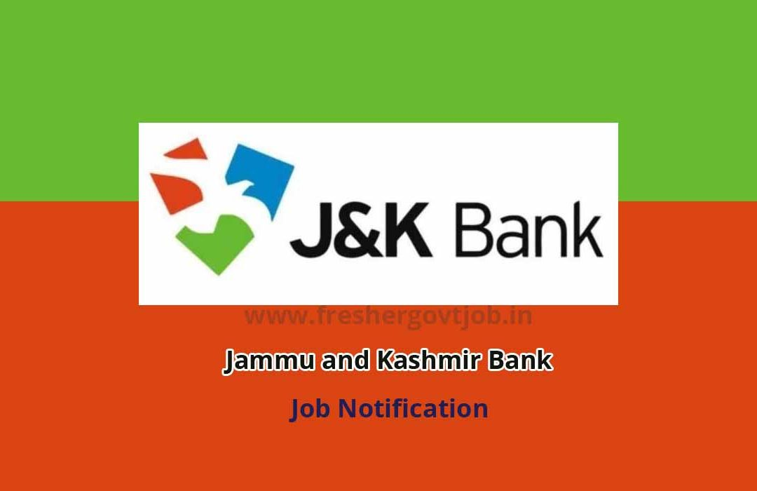 J&K Bank Recruitment