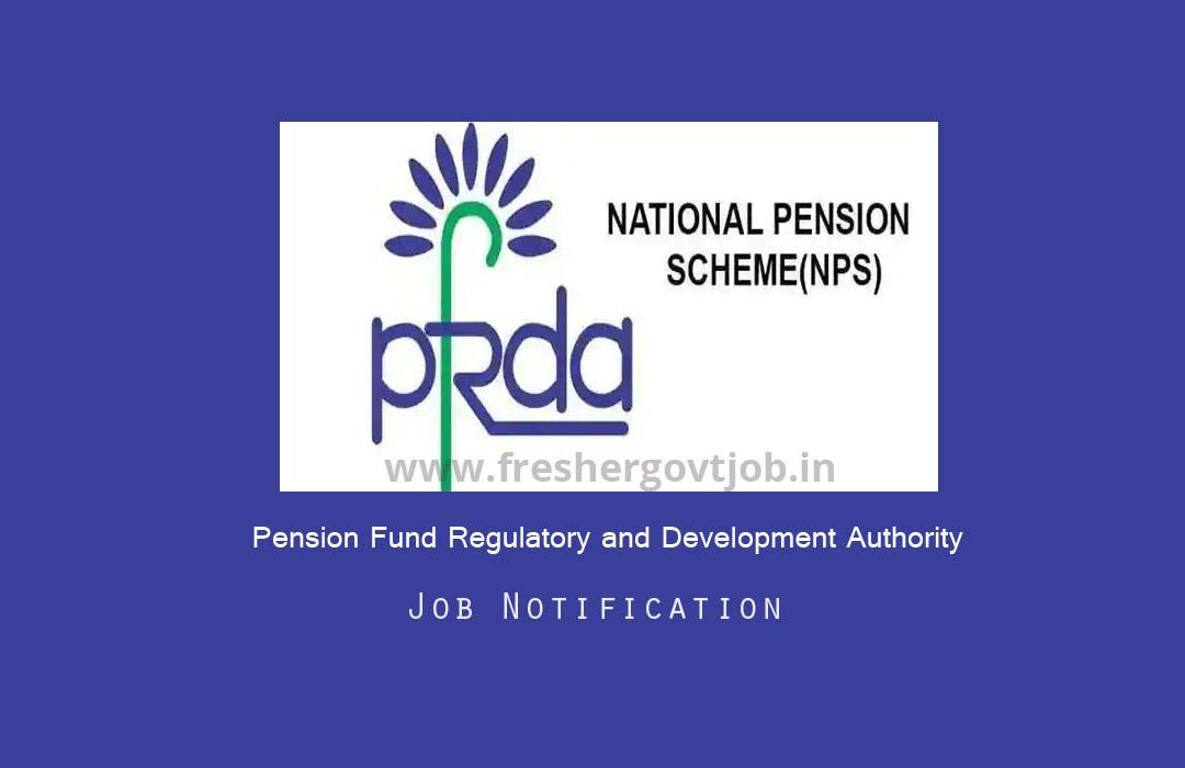 PFRDA Recruitment