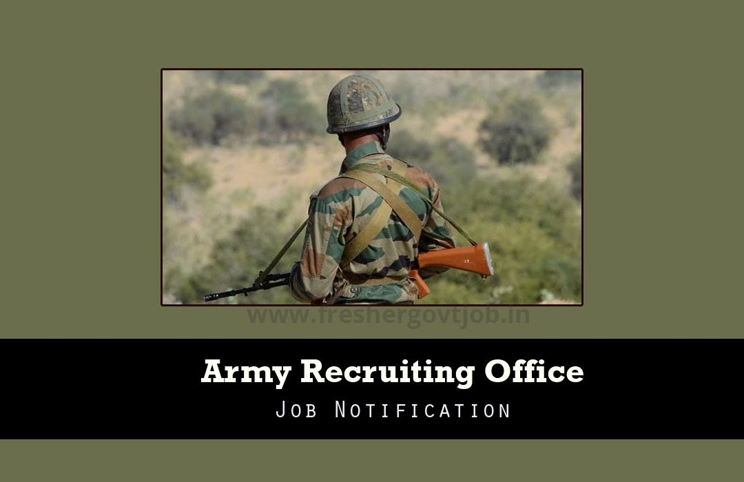 Army Recruiting Office Jobs