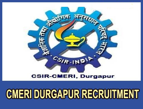 CMERI Recruitment