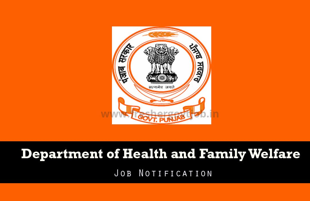 DHFW Punjab Recruitment
