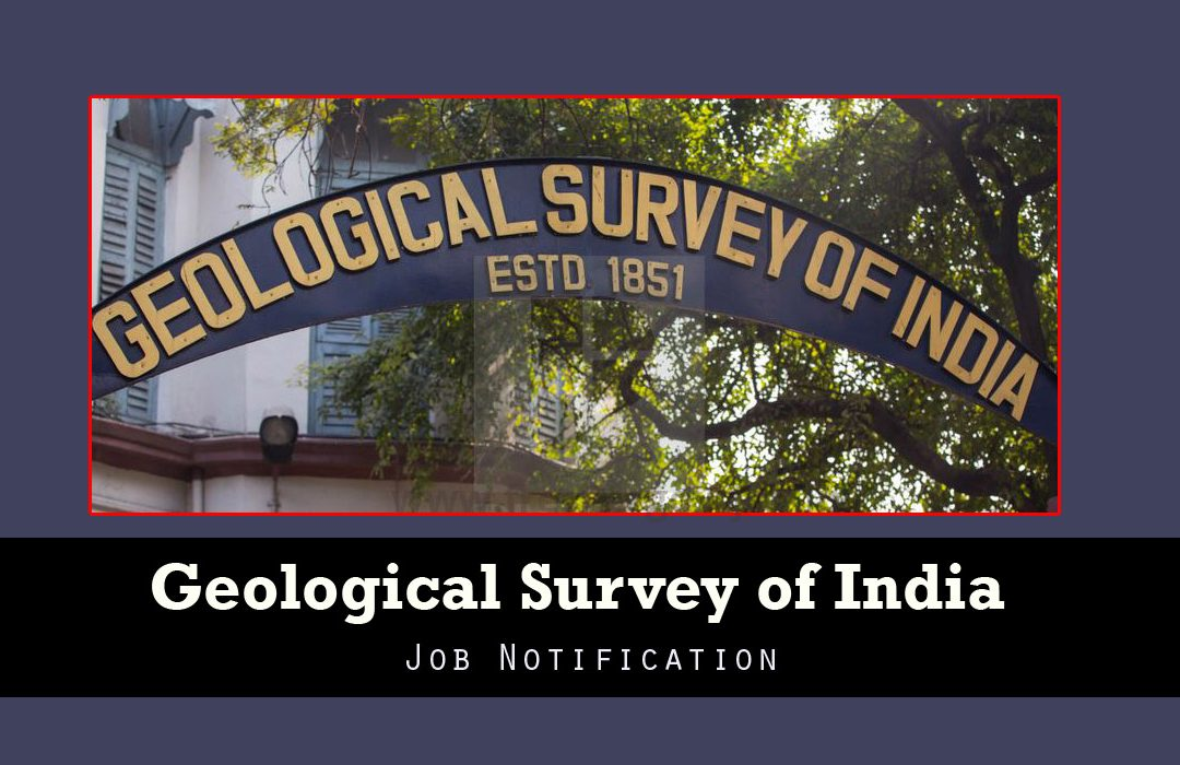 Geological Survey of India Recruitment