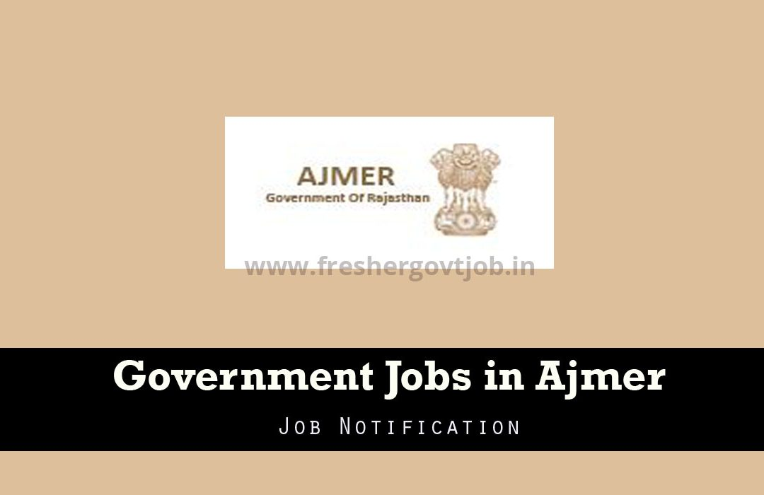 Government Jobs in Ajmer