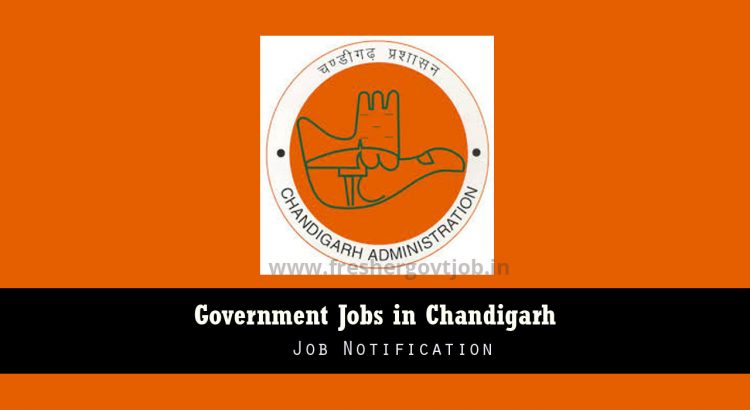 Govt Jobs in Chandigarh