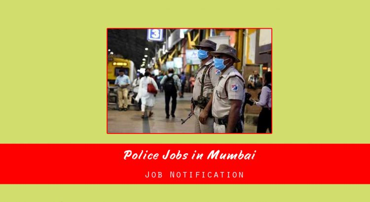 Police Jobs in Mumbai