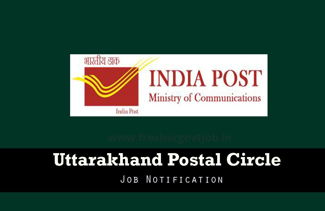 Uttarakhand Post Office Recruitment
