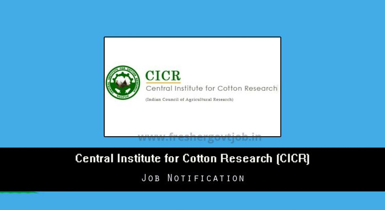 CICR Recruitment