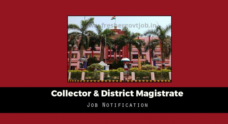 Collector & District Magistrate