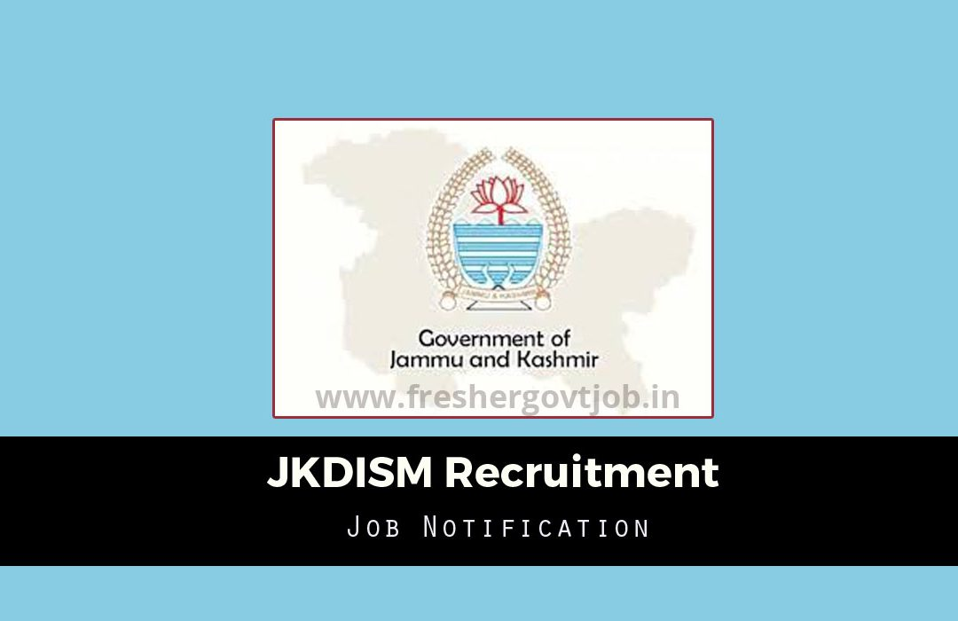 JKDISM Recruitment