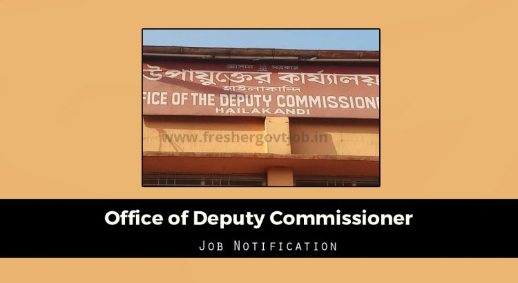 Office of Deputy Commissioner Jobs