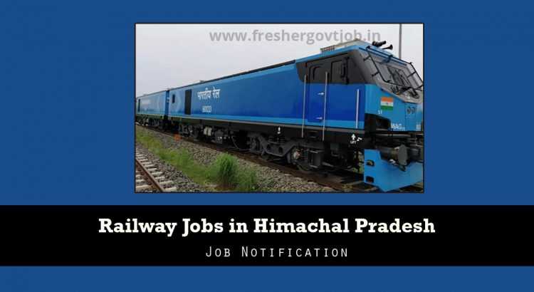 Railway Jobs in HP